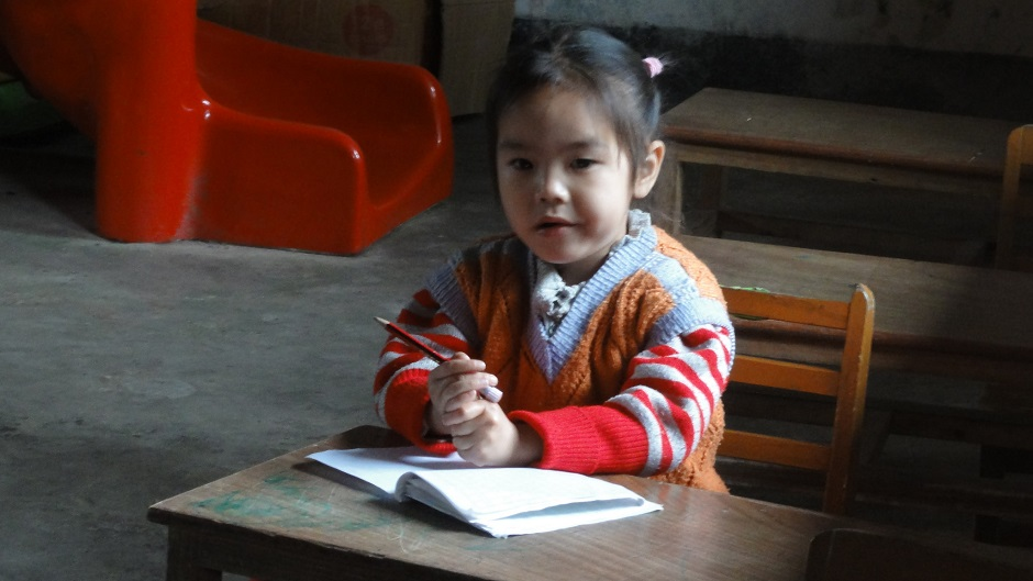 A schoolgirl in rural China. Pic: Flickr/Samuel Vigier