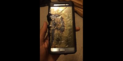 samsung galaxy note 7 explode damage
