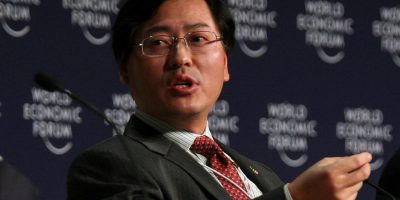 Yang Yuanqing, CEO of Lenovo