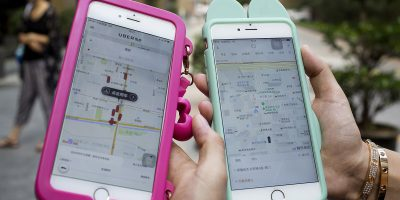 iphone uber didi ride hailing apps