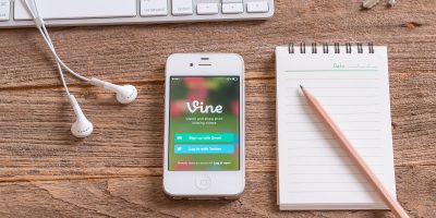vine iphone notepad pencil creative
