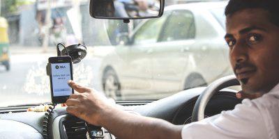 india ola driver taxi ride hailing