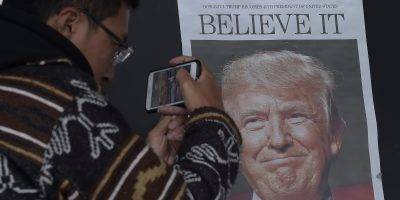 china newspapers donald trump america