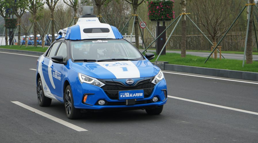 baidu driverless autonomous vehicles