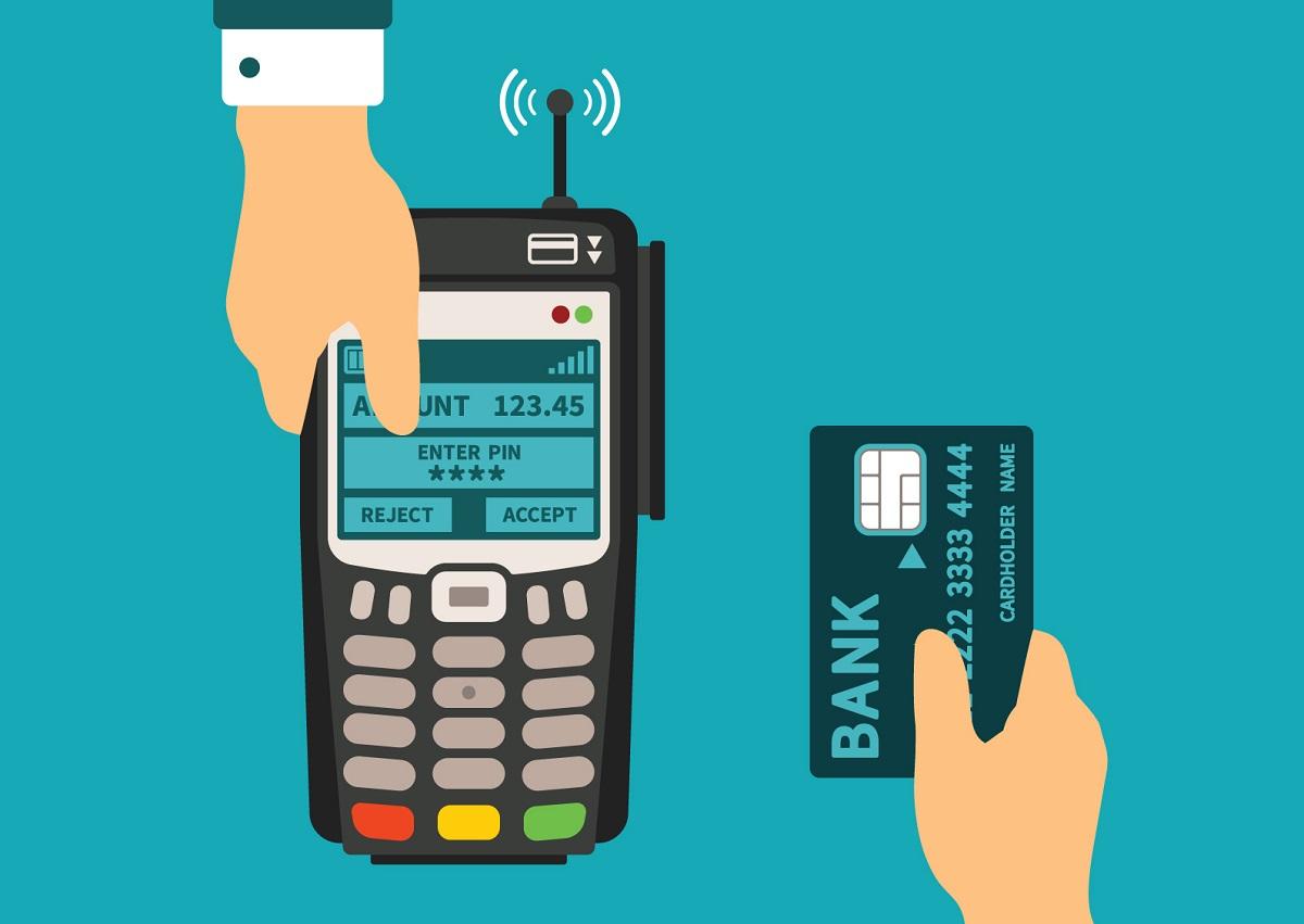 fintech cashless payment terminal