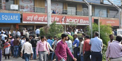 india queues banks finance