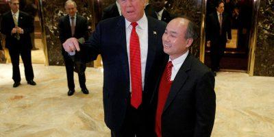 donald trump masayoshi son softbank japan united states president