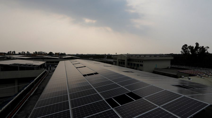 solar panels taiwan renewable energy