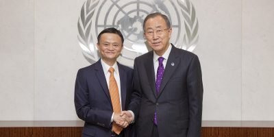 united nations alibaba ban ki-moon jack ma