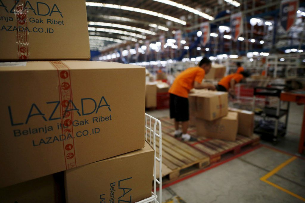 lazada warehouse delivery e-commerce