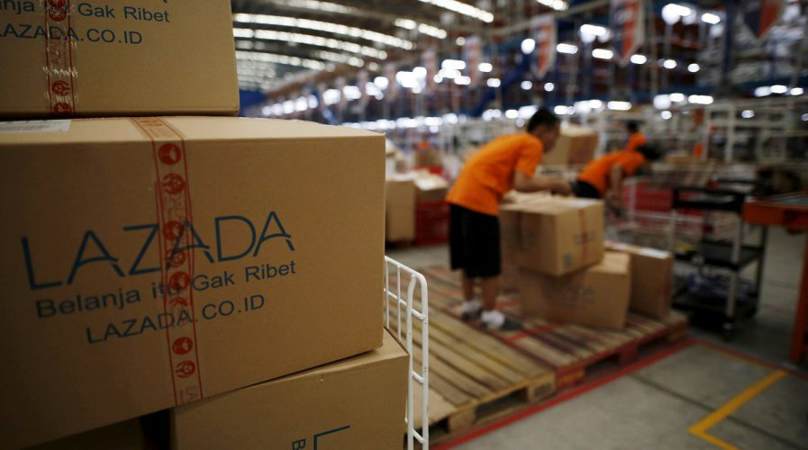 lazada warehouse delivery e-commerce