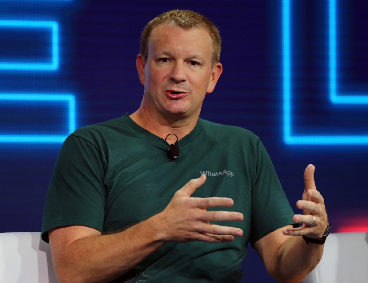 Brian Acton, WhatsApp