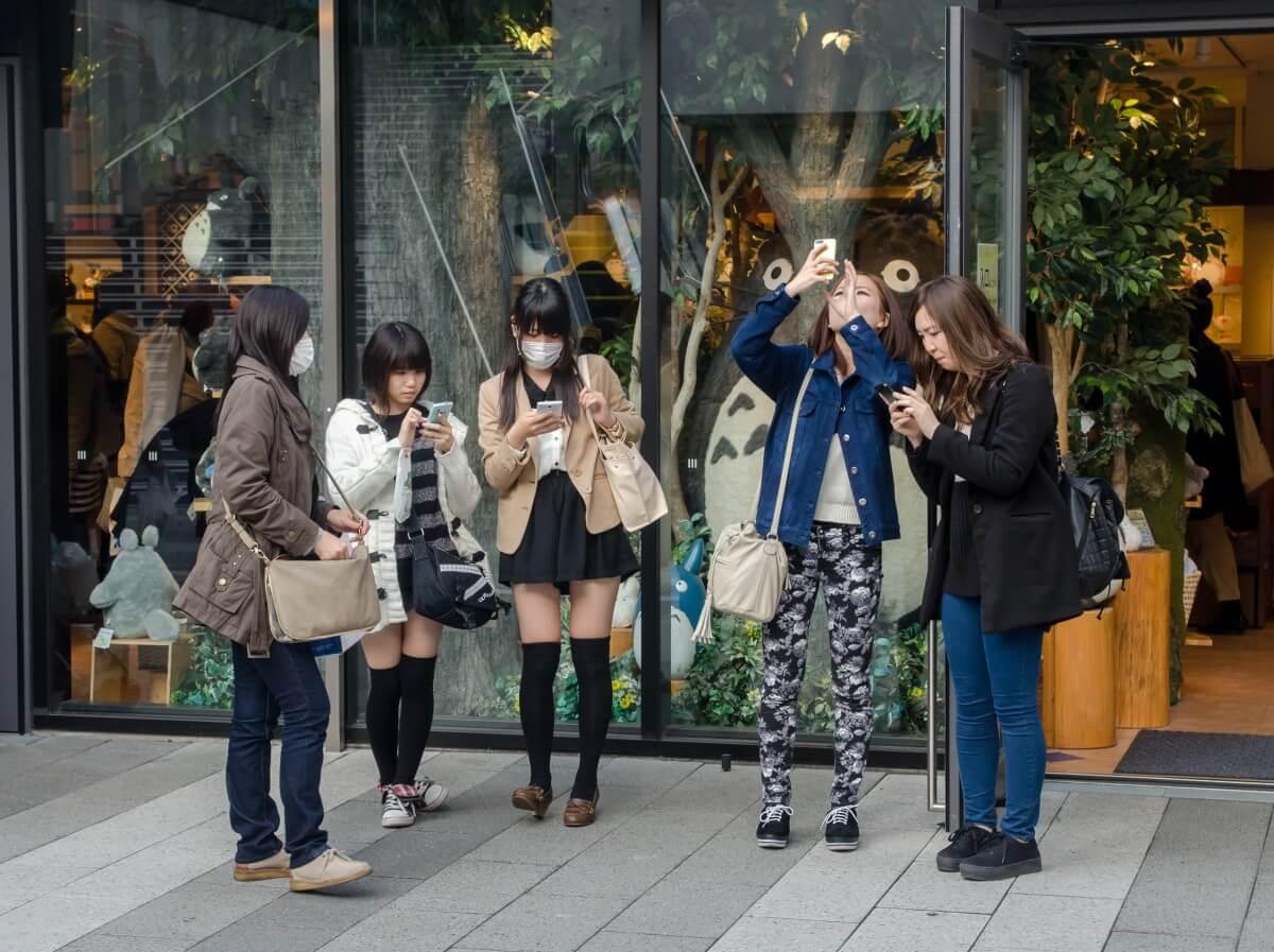 millennial, Asian, shoppers