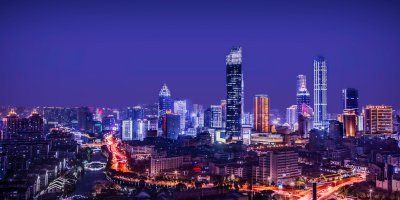 city Asia night