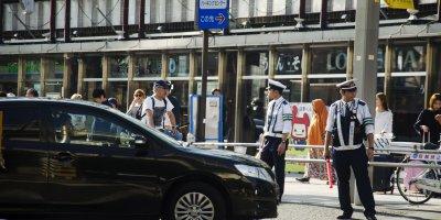 traffic japan police
