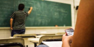 Classroom, phone