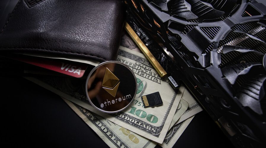 bitcoin, dollar, wallet