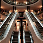 Escalators mall