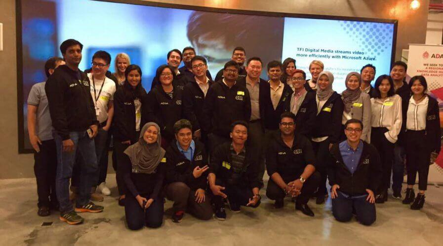 ADSA participants at the ASEAN Data Analytics eXchange (ADAX)