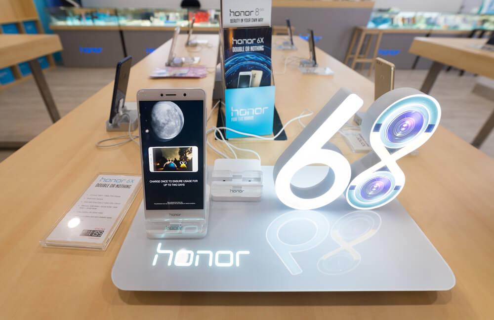 Honor, smartphones, Huawei
