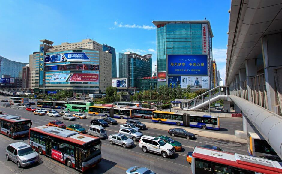 traffic in zhongguancun