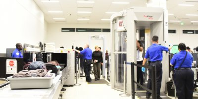 a full body scanner used in the US by TSA