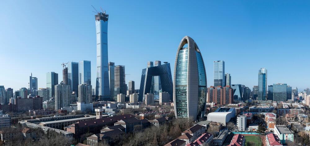 beijing CBD skyline