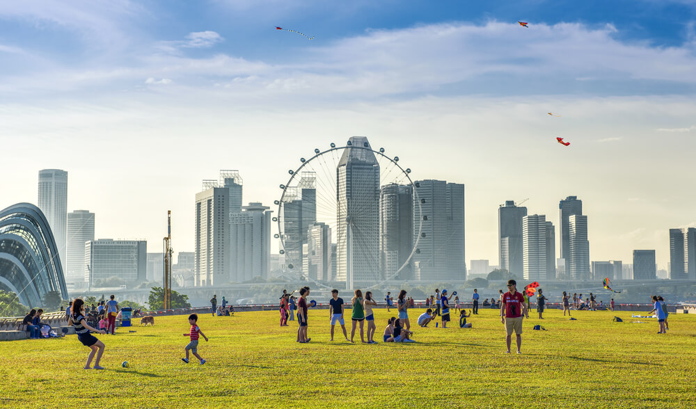 Singapore seems to be one of the most digital ready countries among the ASEAN. Source: Shutterstock