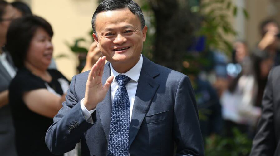 Jack Ma will step down as Alibaba Chairman before the next 11.11 sale. Source: Shutterstock
