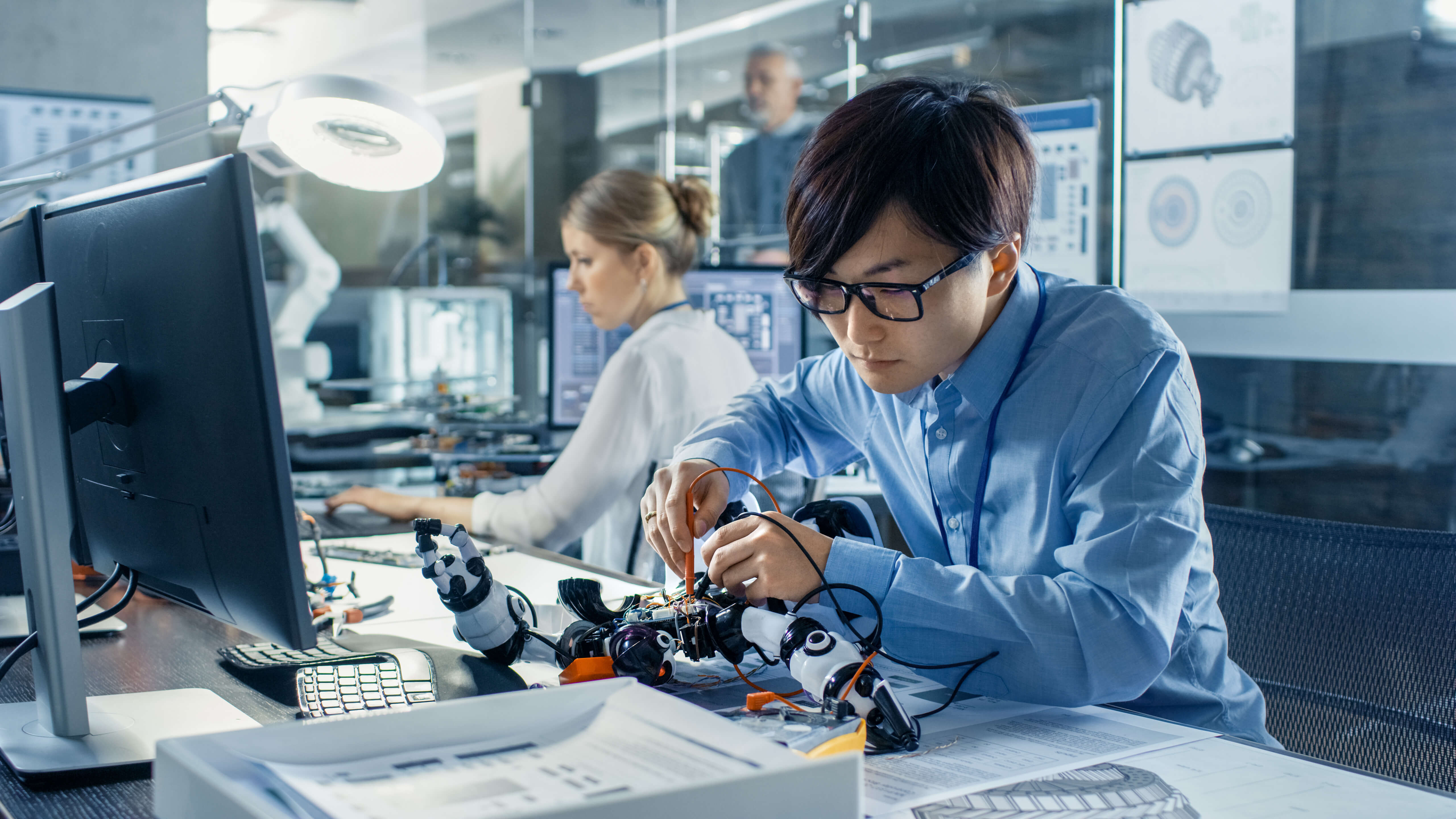 Chinese-born talents who were trained in the United States are becoming a crucial component in fueling country's drive for innovation. Source: Shutterstock.com