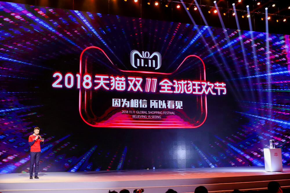 The 11.11 shopping festival made quite the headlines this year. Source: Shutterstock