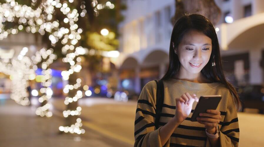 Southeast Asians shoppers get most excited about Christmas according to a new study. Source: Shutterstock.com