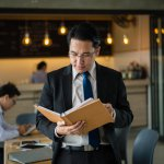 Lawyers in Hong Kong spend a lot of time and money on managing paper files. Source: Shutterstock