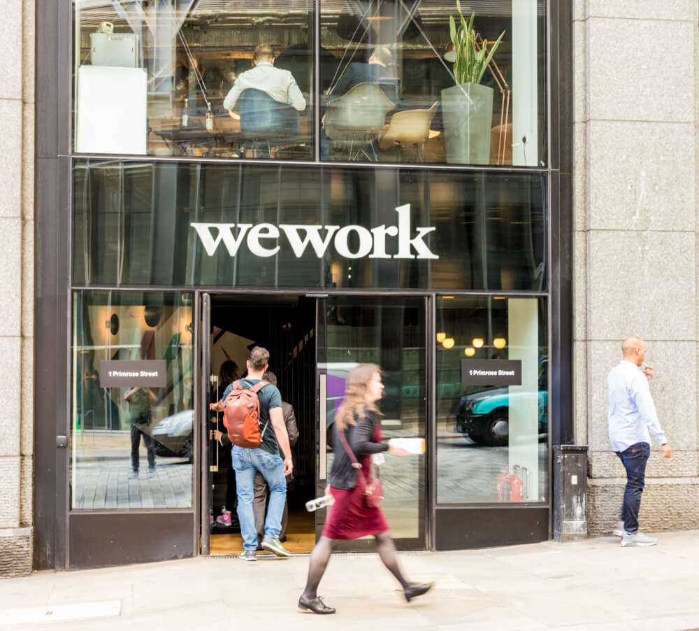 Technology has a great role to play in WeWork's phenomenal growth. Source: Shutterstock