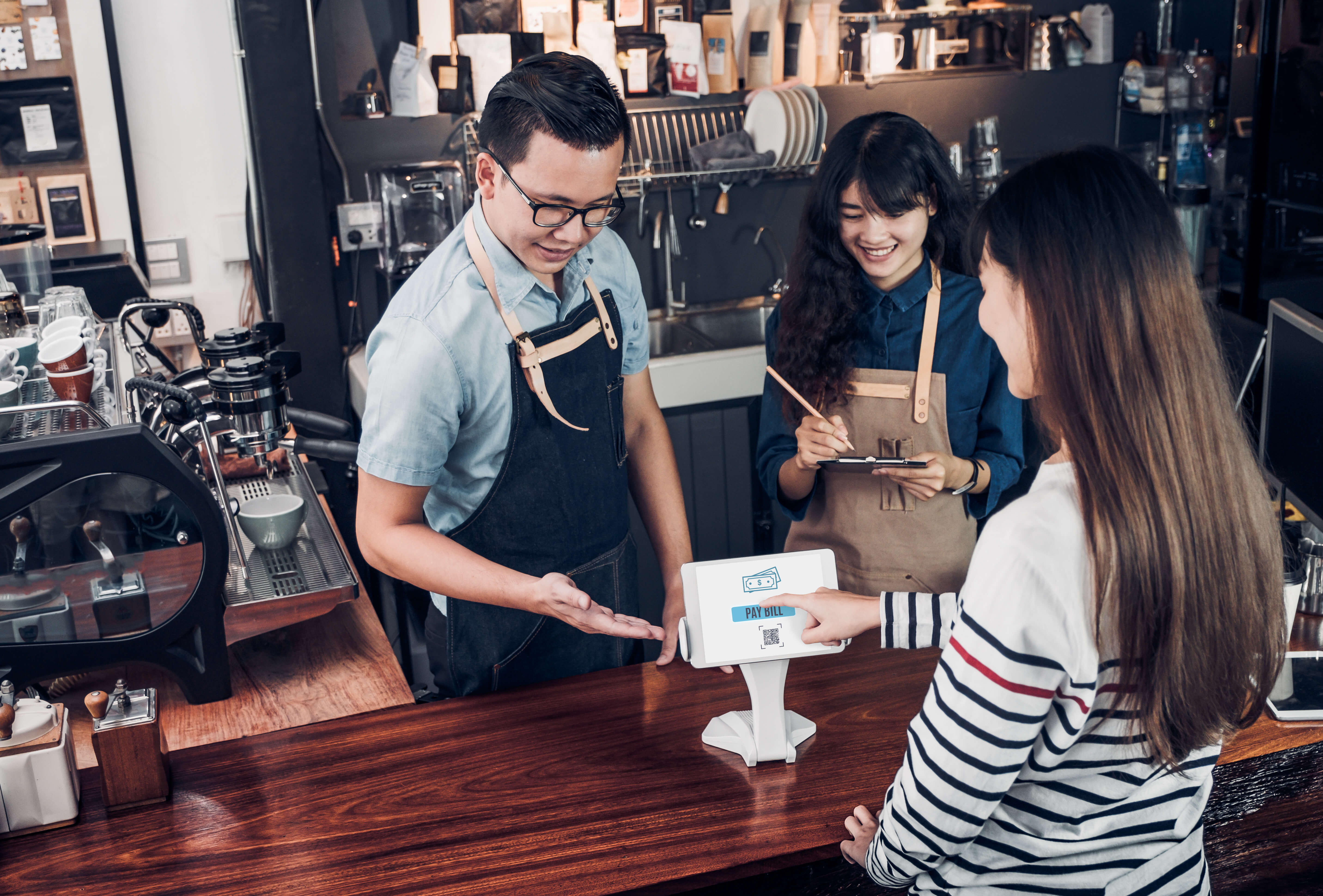Innovative digital solutions are transforming how restaurant business is run. Source: Shutterstock
