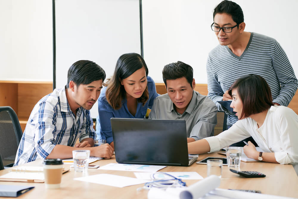Singapore's business leaders admitted to difficulties in managing expectations of the three main blocs that they serve. Source: Shutterstock