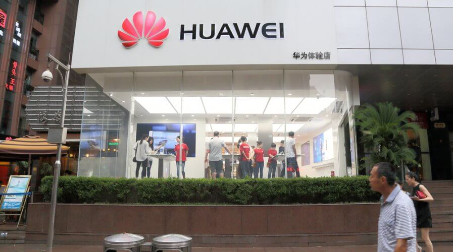 Is Huawei mending fences in the UK? Source: Shutterstock