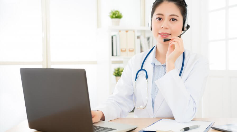 Enabled by the latest technology and increased connectivity, one viable solution to the lack of healthcare access could be telehealth. Source: Shutterstock