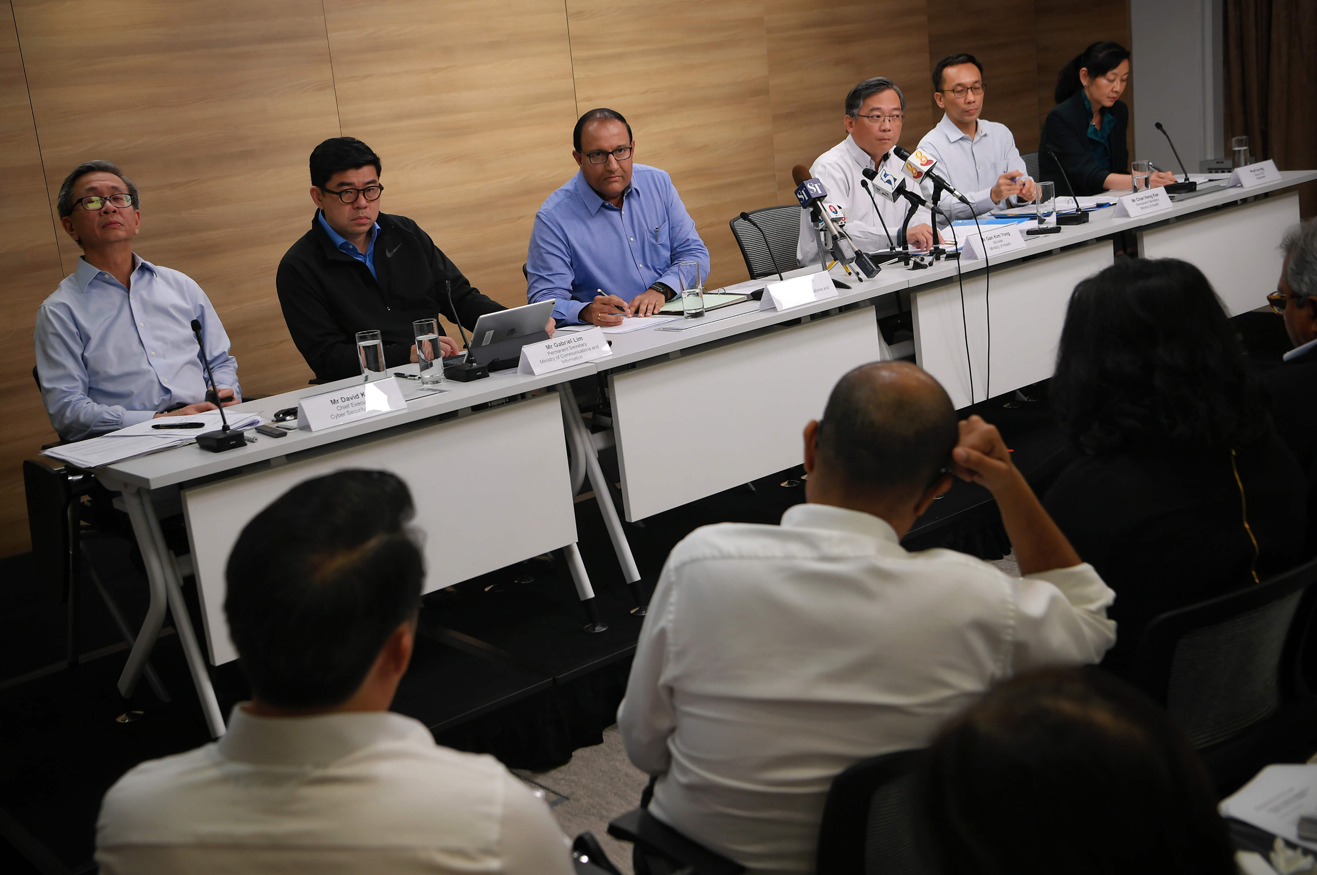 SingHealth's data breach resulted in PDPC levying fines worth SGD1 million. Source: AFP PHOTO / The Straits Times / Mark CHONG