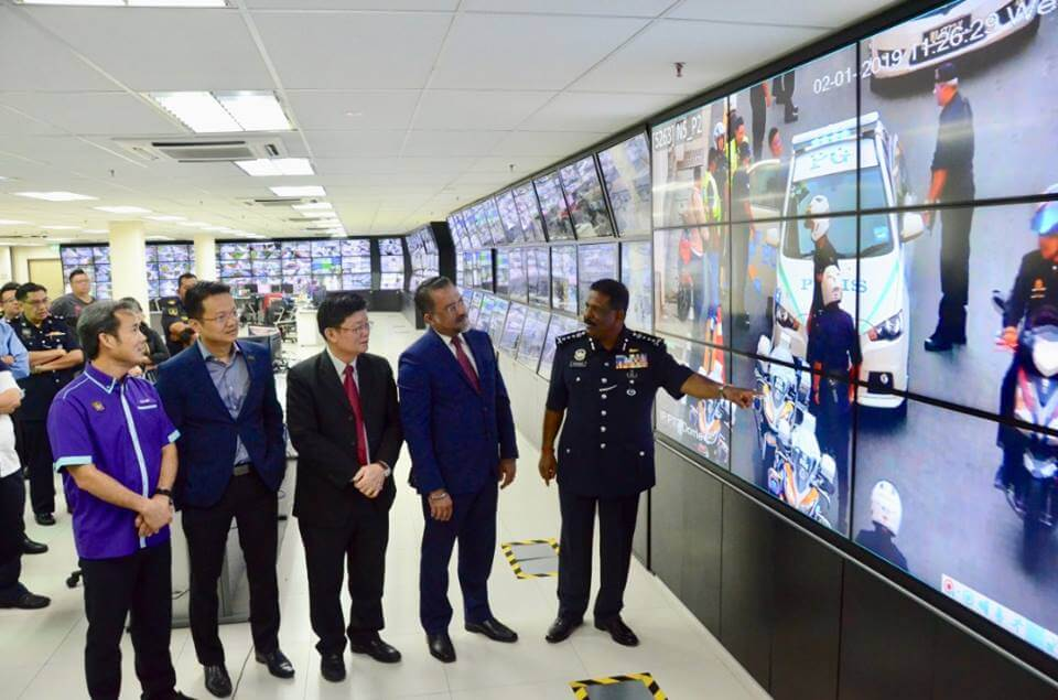 Penang gets new facial recognitions system to help fight crime. Source: Facebook / Chow Kon Yeow