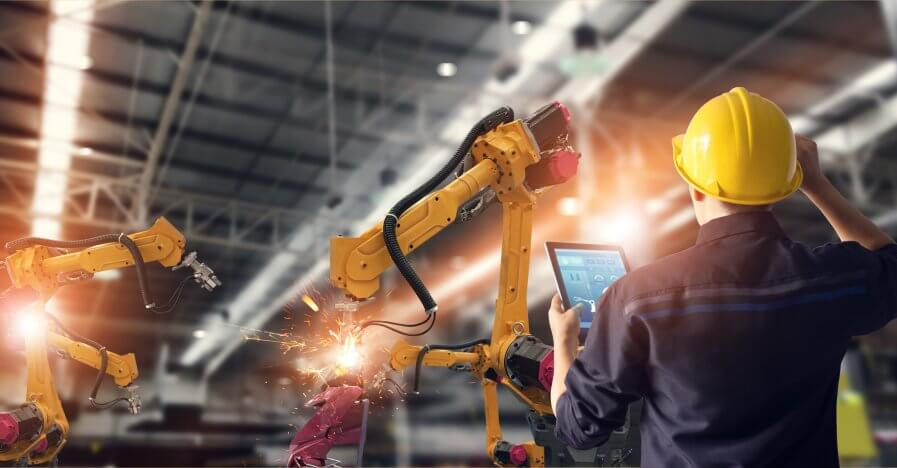 China and the rest of the APAC is excited about industrial robotics. Source: Shutterstock