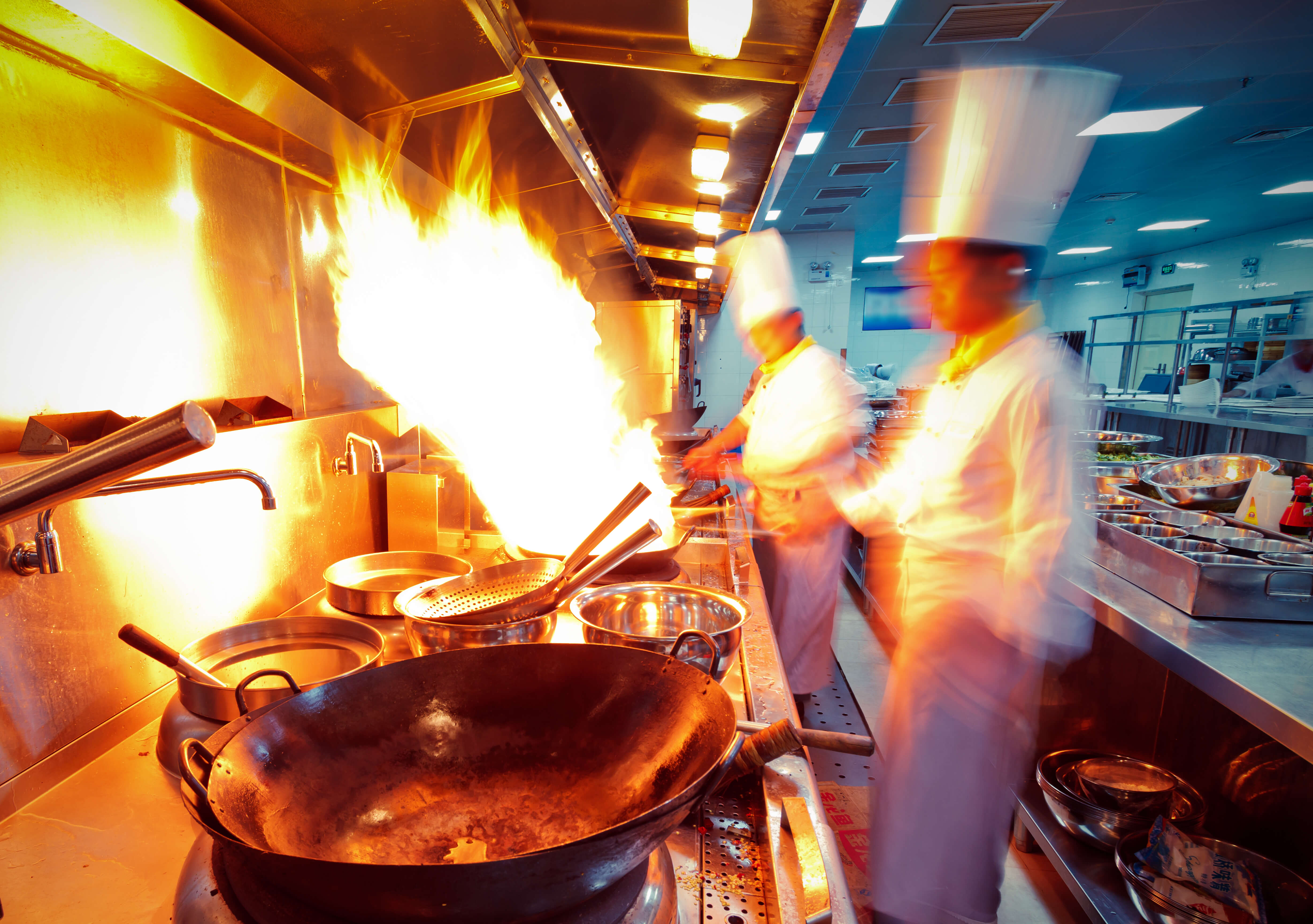 Authorities in a city in eastern China has deployed an AI system to catch cooks who are engaging in unhygienic behavior while in the kitchen. Source: Shutterstock.