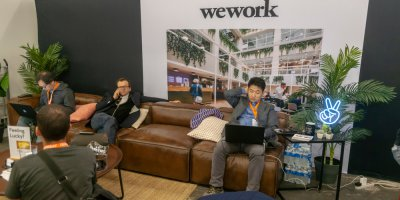 WeWork Go to rival Starbucks in China. Source: Shutterstock