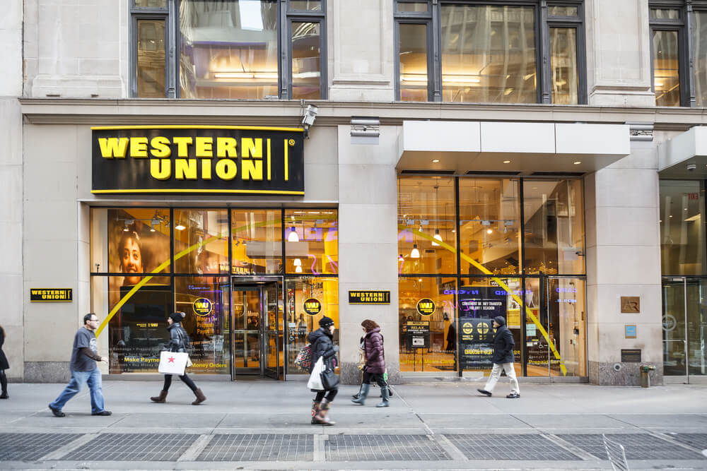 Here's how Western Union keeps up to date with its customers needs. Source: Shutterstock