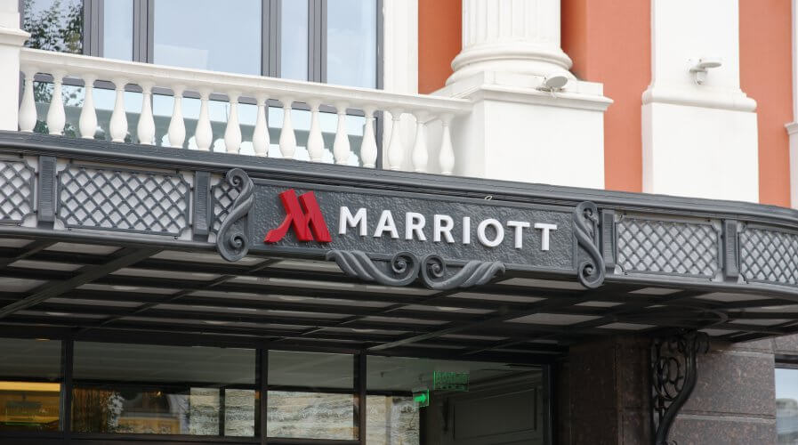 In December, hackers managed to breach into Marriott International's system and accessed private details — including names, credit card numbers, mailing addresses, and passport numbers — of its customers. Source: Shutterstock