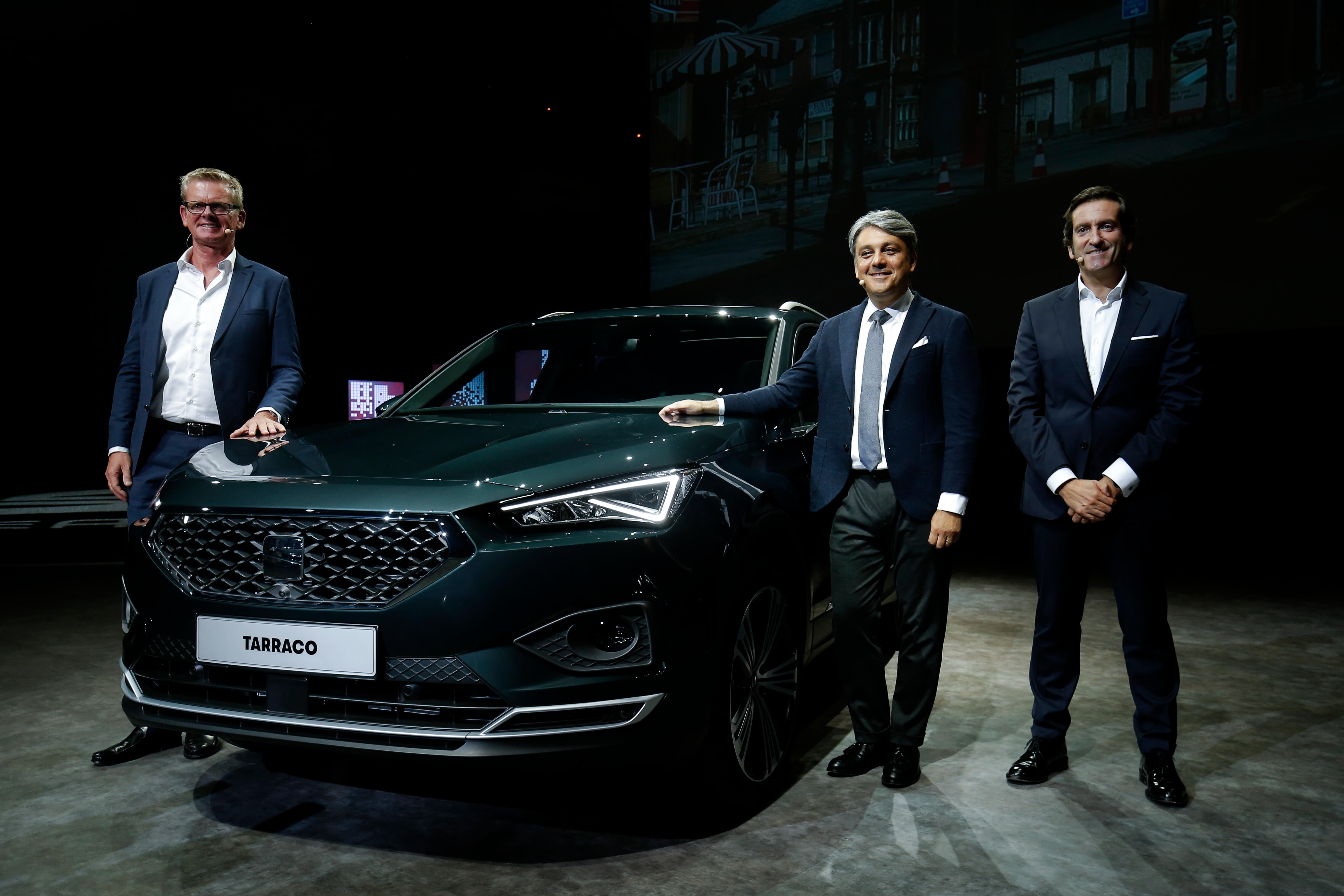 According to Spanish car maker SEAT, car manufacturers could be a big 5G consumer in the near future. Source: PAU BARRENA / AFP