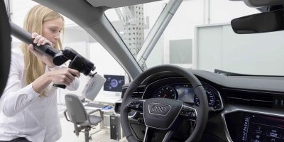 Audi creates new experience using virtual reality in Hong Kong. Source: Audi