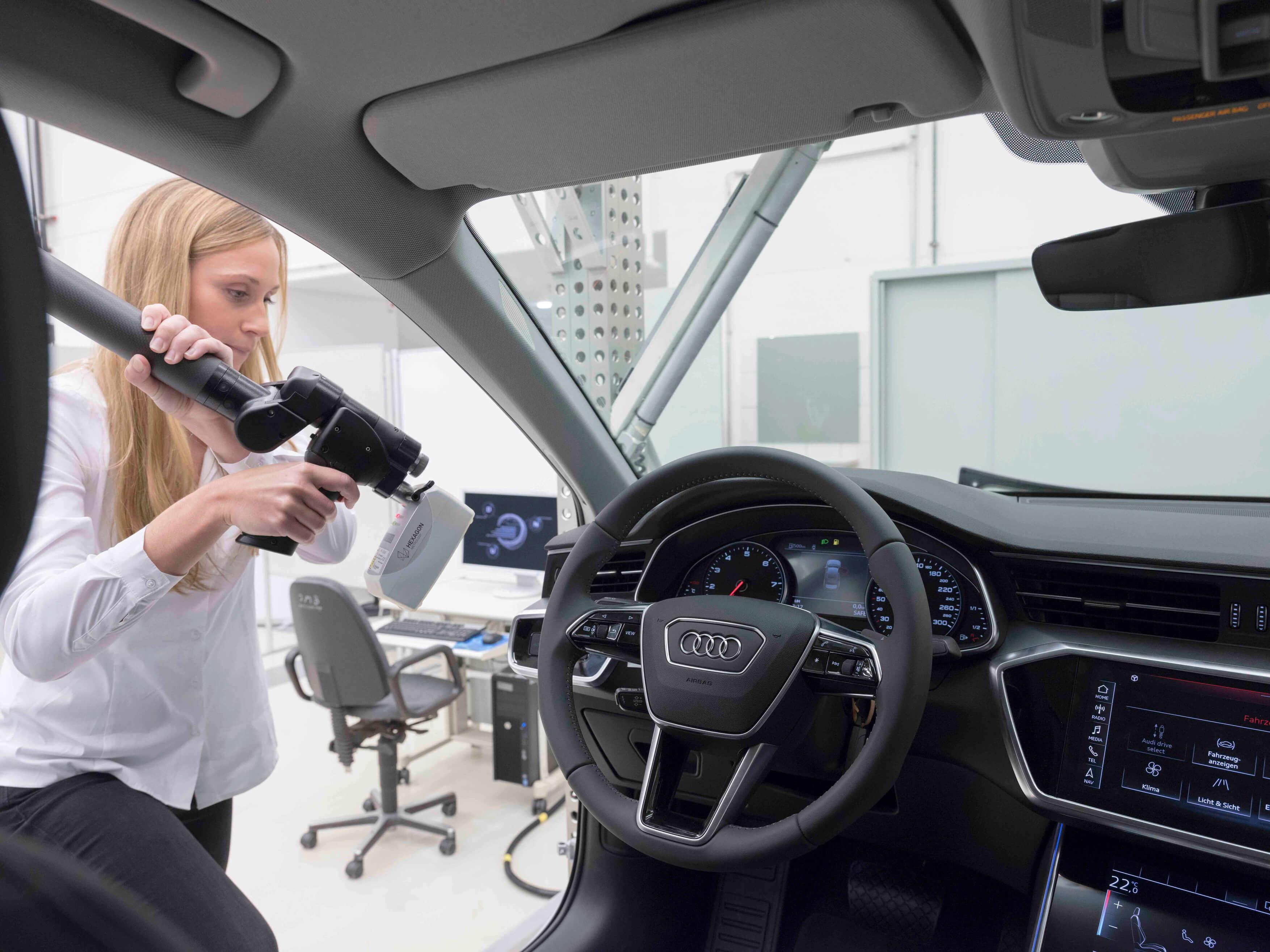 Audi creates new experience using virtual reality in Hong Kong. Source: Audi