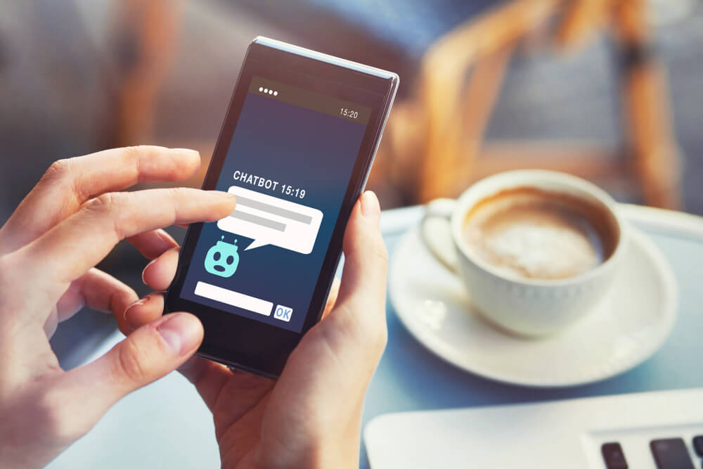 Chatbots changing how telcos talk. Source: Shutterstock