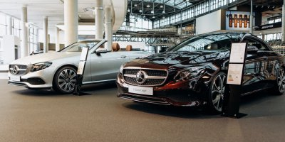 Mercedes-Benz is now on the blockchain. Source: Shutterstock